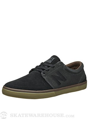 New Balance Numeric Brighton Shoes  Black/Dark Grey