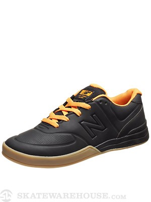New Balance Numeric Logan Shoes  Black/Flame Orange