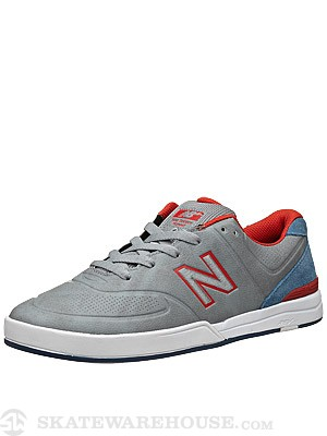 New Balance Numeric Logan Shoes  Med. Grey/Federal Blue