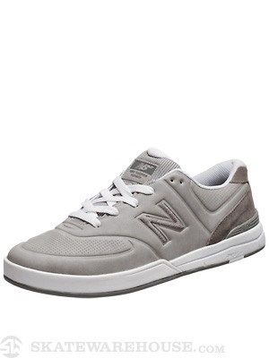 New Balance Numeric Logan Shoes  Micro Grey/Silver