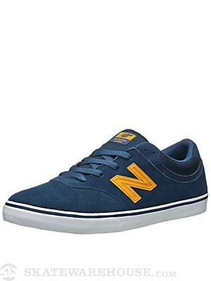 New Balance Numeric Quincy Shoes Estate Blue/Gold