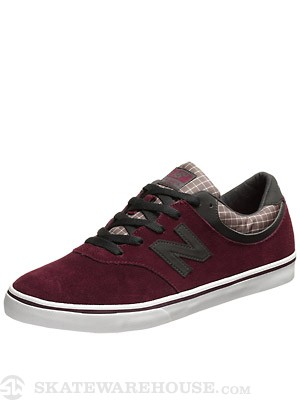 New Balance Numeric Quincy Shoes  Wine Red/Sky Grey