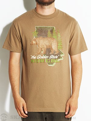 Nor Cal Big Sur Tee Safari Green SM