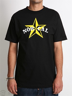 Nor Cal Nautical 2 Tee Black SM
