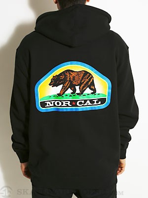 Nor Cal Park Rangers Hoodzip Black MD