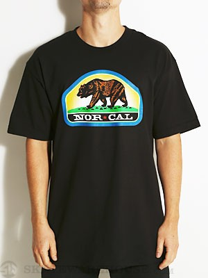 Nor Cal Park Ranger Tee Black MD