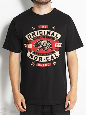 Nor Cal Registered Tee Black MD