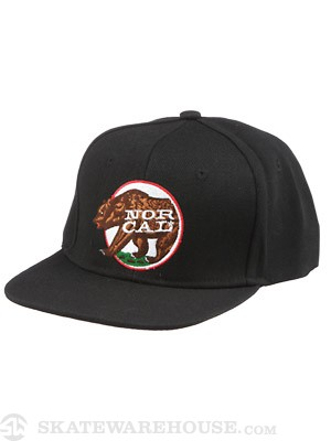Nor Cal Repubs Snapback Hat Black