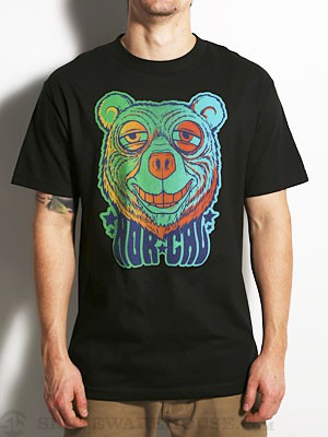 Nor Cal Trip Bear Tee Black SM
