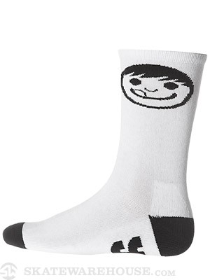 Neff Corpo Crew Socks White One Size