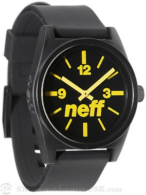 Neff Daily Watch Black/Yellow
