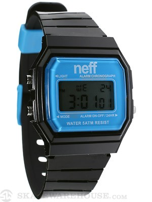 Neff Flava Watch Black/Cyan
