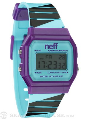 Neff Flava Watch Purple/Cyan/Black