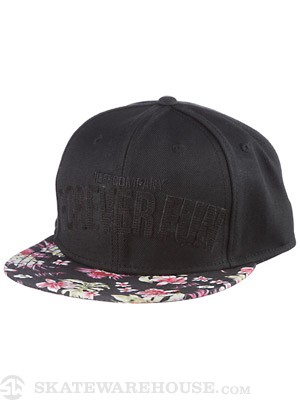 Neff Forever Fun Snapback Hat Black