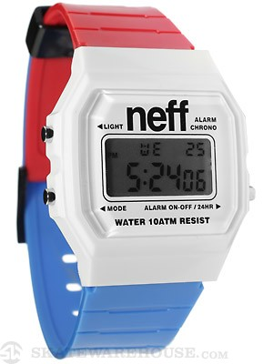 Neff Flava XL Surf Watch Red/White/Blue