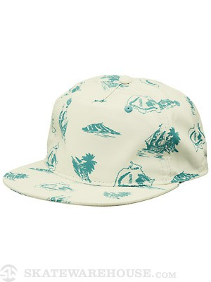 Neff Hawaii Snapback Hat Tan