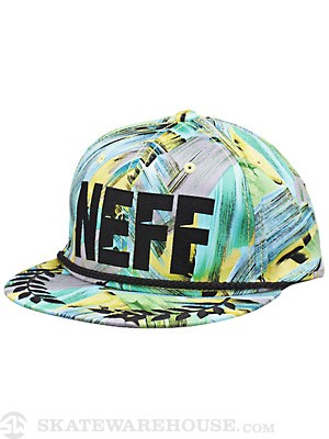 Neff Jefe Hat Black/Yellow