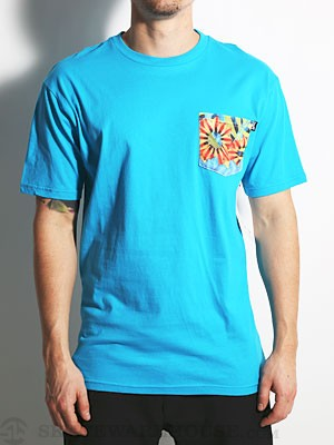 Neff Niffty Premium Pocket Tee Blue XL