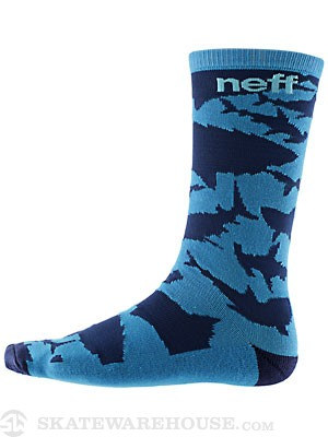 Neff Swimmin Socks Blue