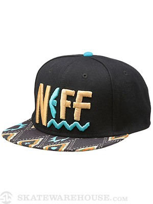 Neff Tribal Beach Snapback Hat Blue