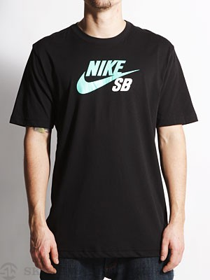 Nike SB Dri-Fit Icon Logo Tee Black SM