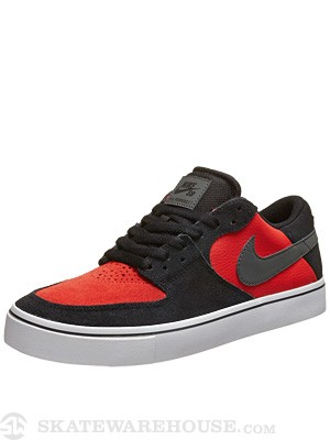 Nike SB P Rod 7 VR Shoes  Black/Base Grey/Crimson