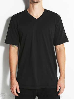 Nike SB Dri Fit Solid V-Neck Black SM