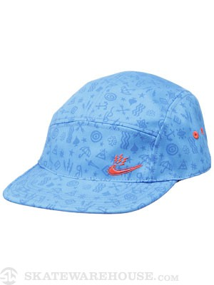 Nike SB Electric Swoosh 5 Panel Blue