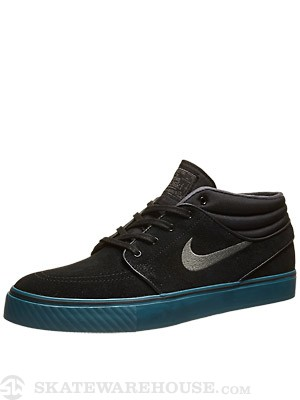 Nike SB Janoski Mid Shoes  Black/Dark Base Grey