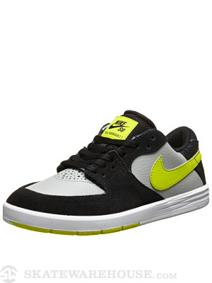 Nike SB Kids P Rod 7 Shoes  Base Grey/Venom Green
