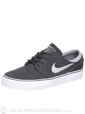 Nike SB Kids Janoski Shoes  Anthracite/Poison Green