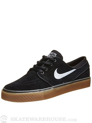 Nike SB Kids Janoski Shoes  Black/Gum/White