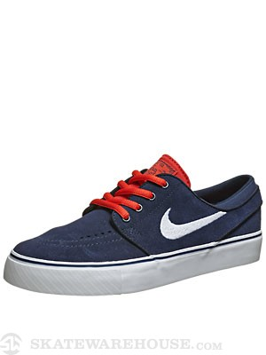 Nike SB Kids Janoski Shoes  Midnight Navy/Crimson