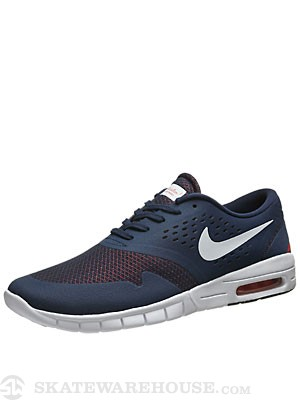 Nike SB Koston 2 Max Shoes  Midnight Navy/White
