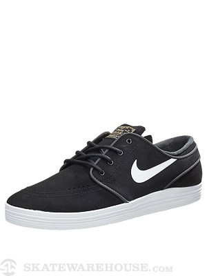 Nike SB Lunar Janoski Shoes  Black/White