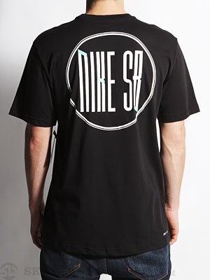 Nike SB Dri-Fit Monogram Tee Black SM