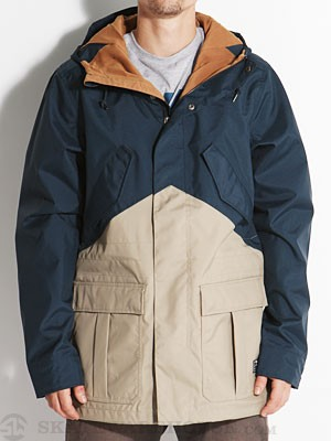Nike Mid Weight Fishtail Jacket Navy LG