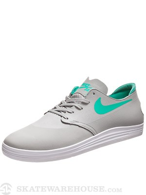 Nike SB Lunar One Shot Shoes  Base Grey/Crystal Mint