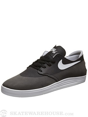 Nike SB Lunar One Shot Shoes  Black/White