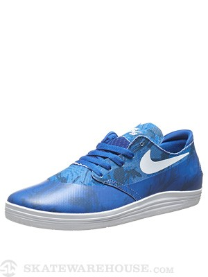 Nike SB Lunar One Shot Shoes  Game Royal/White