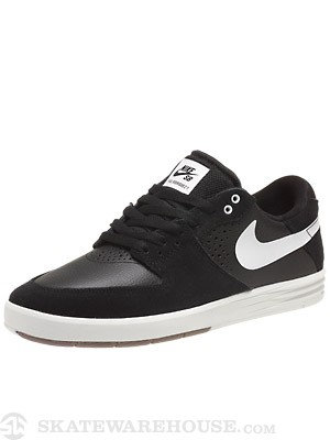 Nike SB P Rod 7 Shoes Black/Black/White