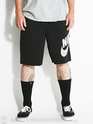 Nike SB Sunday Dri-Fit Shorts Black/White SM