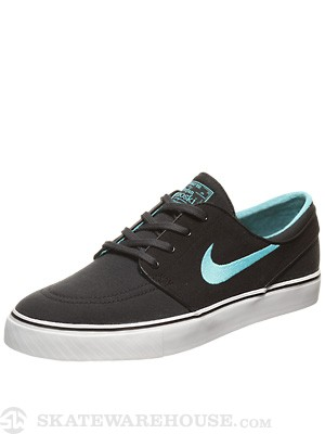 Nike SB Janoski Canvas Shoes  Anthracite/Gamma Blue