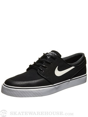 Nike SB Janoski Premium SE Canvas Shoes  Black/Wht/Gum