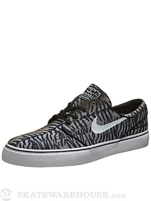 Nike SB Janoski Canvas Shoes  Black/Medium Olive