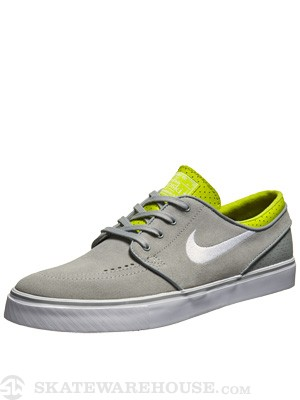 Nike SB Janoski Shoes  Base Grey/Venom Green