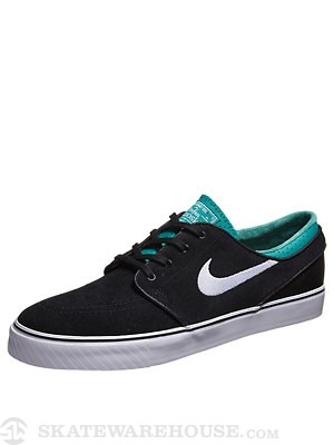 Nike SB Janoski Shoes  Black/White/Turbo Green