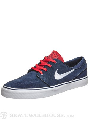 Nike SB Janoski Shoes  Midnight Navy/White