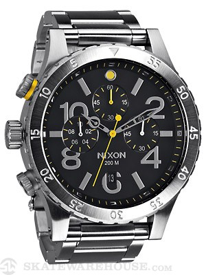 Nixon The 48-20 Chrono Watch  Black