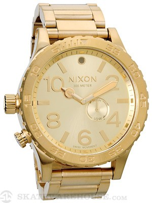 Nixon The 51-30 Tide Watch  All Gold